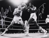Larry Holmes & Gerry Cooney Signed 11x14 Photo (JSA COA)