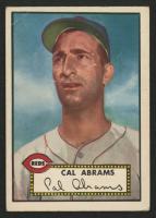 1952 Topps #350 Cal Abrams