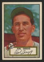 1952 Topps #318 Harold Gregg RC