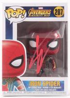 "Tom Holland Signed ""Iron Spider"" #287 Avengers: Infinity War Bobble-Head Funko Pop Vinyl Figure (PSA COA)"