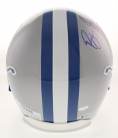 Barry Sanders Signed Detroit Lions Full-Size Helmet (Beckett COA) at PristineAuction.com