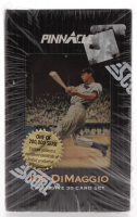 Joe DiMaggio 1993 Pinnacle Tin Set of (30) Cards