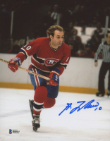 Guy Lafleur Signed Montreal Canadiens 8x10 Photo (Beckett COA)