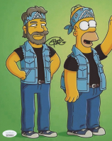 """Tommy Chong Signed """"The Simpsons"""" 8x10 Photo- """"Cheech & Chong"""" (JSA COA) at PristineAuction.com"""