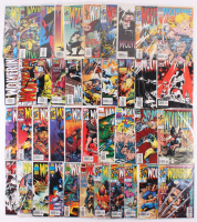 Lot of (41) 1993-2001 Wolverine Marvel Comic Books