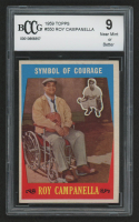 1959 Topps #550 Roy Campanella / Symbol of Courage (BCCG 9)