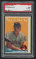 1958 Topps #47 Roger Maris RC (PSA 7) (MC)