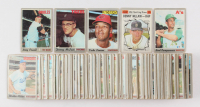 Lot of (184) 1970 Topps Baseball Cards with #410 Boog Powell, #205 Bert Campaneris, #445 Vada Pinson, #400 Denny McLain, #467 Denny McLain All Star at PristineAuction.com