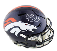 Champ Bailey Signed Denver Broncos Full-Size Authentic On-Field SpeedFlex Helmet (Radtke COA)