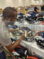 Champ Bailey Signed Denver Broncos Full-Size Authentic On-Field SpeedFlex Helmet (Radtke COA) at PristineAuction.com