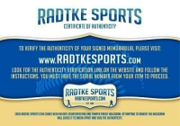 Eric Ebron Signed Indianapolis Colts Full-Size Authentic On-Field SpeedFlex Helmet (Radtke COA) at PristineAuction.com