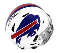 Josh Allen Signed Buffalo Bills Full-Size Authentic On-Field SpeedFlex Helmet (Beckett COA) at PristineAuction.com