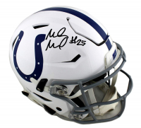 Marlon Mack Signed Indianapolis Colts Full-Size Authentic On-Field SpeedFlex Helmet (Radtke COA)