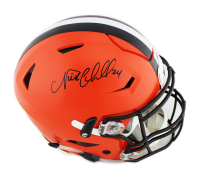 Nick Chubb Signed Cleveland Browns Full-Size Authentic On-Field SpeedFlex Helmet (Radtke COA)