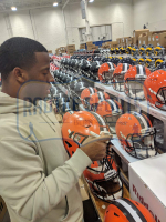 Nick Chubb Signed Cleveland Browns Full-Size Authentic On-Field SpeedFlex Helmet (Radtke COA) at PristineAuction.com