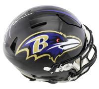 Ray Lewis Signed Baltimore Ravens Full-Size Authentic On-Field SpeedFlex Helmet (Radtke COA) at PristineAuction.com