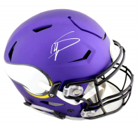 Stefon Diggs Signed Minnesota Vikings Full-Size Authentic On-Field SpeedFlex Helmet (Radtke COA) at PristineAuction.com