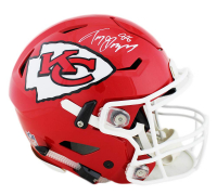 Tony Gonzalez Signed Kansas City Chiefs Full-Size Authentic On-Field SpeedFlex Helmet (Radtke COA) at PristineAuction.com