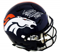 Von Miller Signed Denver Broncos Full-Size Authentic On-Field SpeedFlex Helmet (Radtke COA)