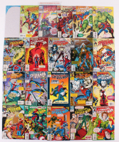 "Lot of (21) 1993-1995 Marvel ""Amazing Spider-Man"" 1st Series Comic Books with Issues # 27 Annual, 380, 386, 389, 400 at PristineAuction.com"