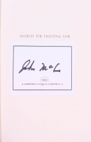 "John McCain Signed ""Worth the Fighting For"" Hardcover Book (JSA COA) at PristineAuction.com"