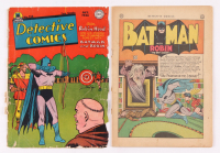 "Lot of (2) 1945-1946 DC Comic ""Detective Comics"" Books with Issues #106 & #116 Cover"