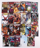 "Lot of (23) 2008-2009 Marvel ""Amazing Spider-Man"" Comic Books with Issues #551, 557, 570, 581, 597 at PristineAuction.com"