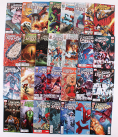 """Lot of (29) 2012-2013 Marvel """"Amazing Spider-Man"""" Comic Books with Issues #679, 680, 689, 691, 700"""