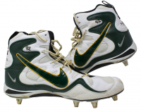 Reggie White Green Bay Packers Game-Used Pair of Nike Cleats (Hunt Auctions COA)