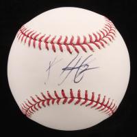 Bryce Harper Signed OML Baseball - Rookie Ball (PSA COA)