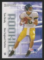 2000 Impact #27 Tom Brady RC