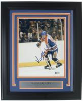 Wayne Gretzky Signed Edmonton Oilers 11x14 Custom Framed Photo Display (Beckett Hologram)