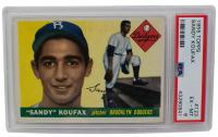 1955 Topps #123 Sandy Koufax RC (PSA 3 6)