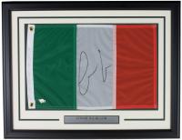 Conor McGregor Signed 20x26 Custom Framed Irish Flag Display (Fanatics Hologram) at PristineAuction.com