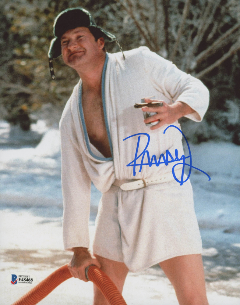 "Randy Quaid Signed ""National Lampoon's Christmas Vacation"