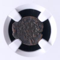 "Biblical ""Widow's Mite"" 135-37 BC Judaean Prutah of the Maccabean Kings (NGC Certified)"