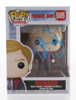 "David Spade Signed ""Tommy Boy"" Richard #505 Funko Pop! Vinyl Figure (JSA COA)"