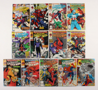 "Lot of (13) 1989-90 ""The Amazing Spider-Man"" #317-328 Marvel Comic Books"