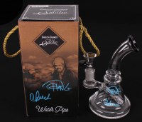 "Cheech Marin & Tommy Chong Signed ""Up In Smoke"" Glass Tobacco Water Pipe & Signed Packaging (JSA COA)"