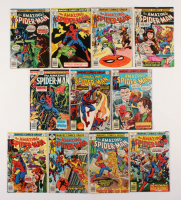 "Lot of (11) 1976-78 ""The Amazing Spider-Man"" #167-178 Marvel Comic Books"