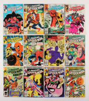 "Lot of (12) 1983-84 ""The Amazing Spider-Man"" #242-253 Marvel Comic Books"