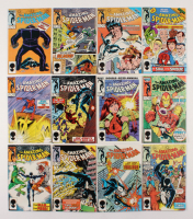 "Lot of (12) 1985-86 ""The Amazing Spider-Man"" #265-274 Marvel Comic Books"