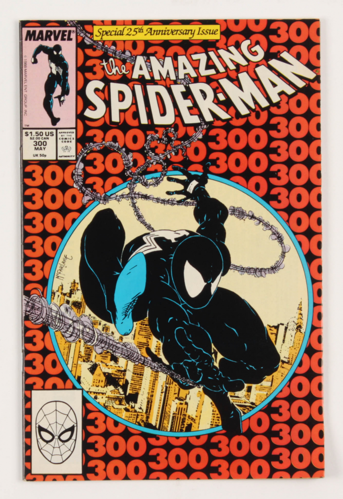 "1988 ""Amazing Spider-Man"" Issue #300 Marvel Comic Book at PristineAuction.com"