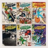"Lot of (6) 1987-88 ""The Amazing Spider-Man"" #295-299 Marvel Comic Books"