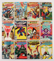 "Lot of (12) 1982-83 ""The Amazing Spider-Man"" #231-241 Marvel Comic Books"