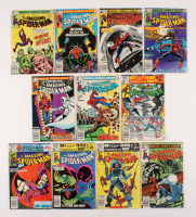"Lot of (11) 1981-82 ""The Amazing Spider-Man"" #220-230 Marvel Comic Books"