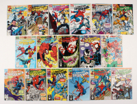 "Lot of (17) 1991-92 ""The Amazing Spider-Man"" #345-360 Marvel Comic Books"