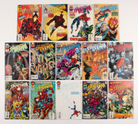 "Lot of (14) 1995-96 ""The Amazing Spider-Man"" #401-417 Marvel Comic Books at PristineAuction.com"