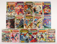 "Lot of (16) 1979-80 ""The Amazing Spider-Man"" #188-207 Marvel Comic Books"