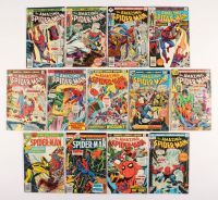 "Lot of (13) 1975-77 ""The Amazing Spider-Man"" #150-167 Marvel Comic Books"